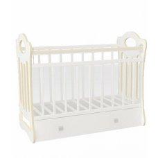 Кровать детская VDK-Belinda ( фигур. спинка, маятн. от.пл.,ящик)