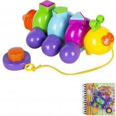 Лог. игрушка Гусеница Сортер 22006