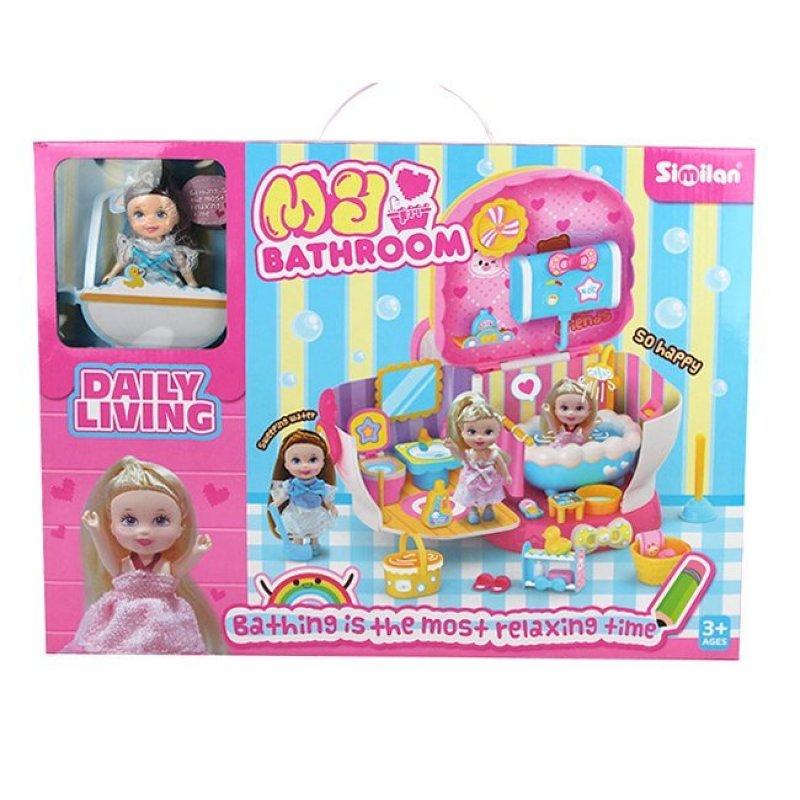 Игровой набор 077QL ванная комната