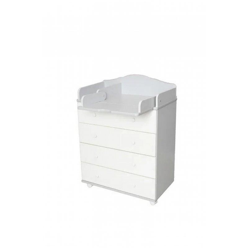 Комод ASTRA 800/4 (белый)