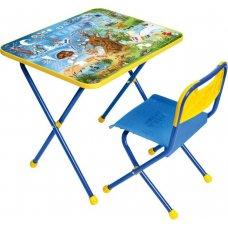 """Комплект детской складной мебели """"Познайка"""" хочу все знать"""