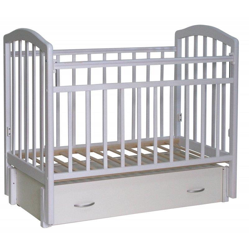 """Кровать детская """"Алита"""" (6) а/с, маятник (продольного качания)"""