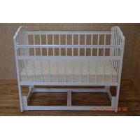 Кровать детская Гном 3 маятник продольного качания без ящика