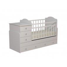 """Кровать детская с комодом и ящиками """"Колибри-1"""""""