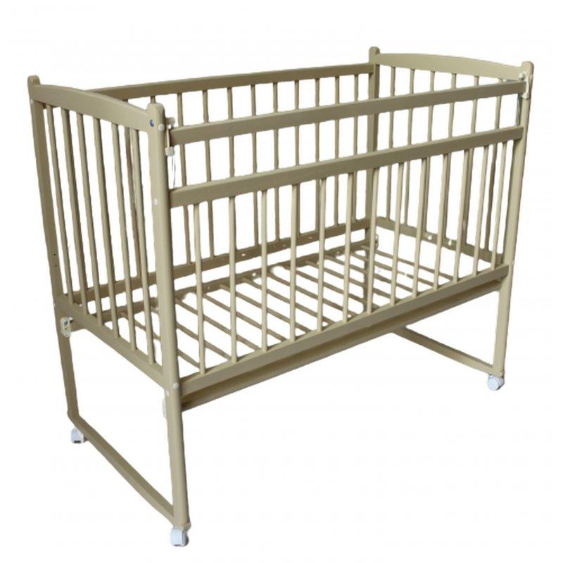 Кровать детская Женечка-15 эконом плюс (колесо-качалка)