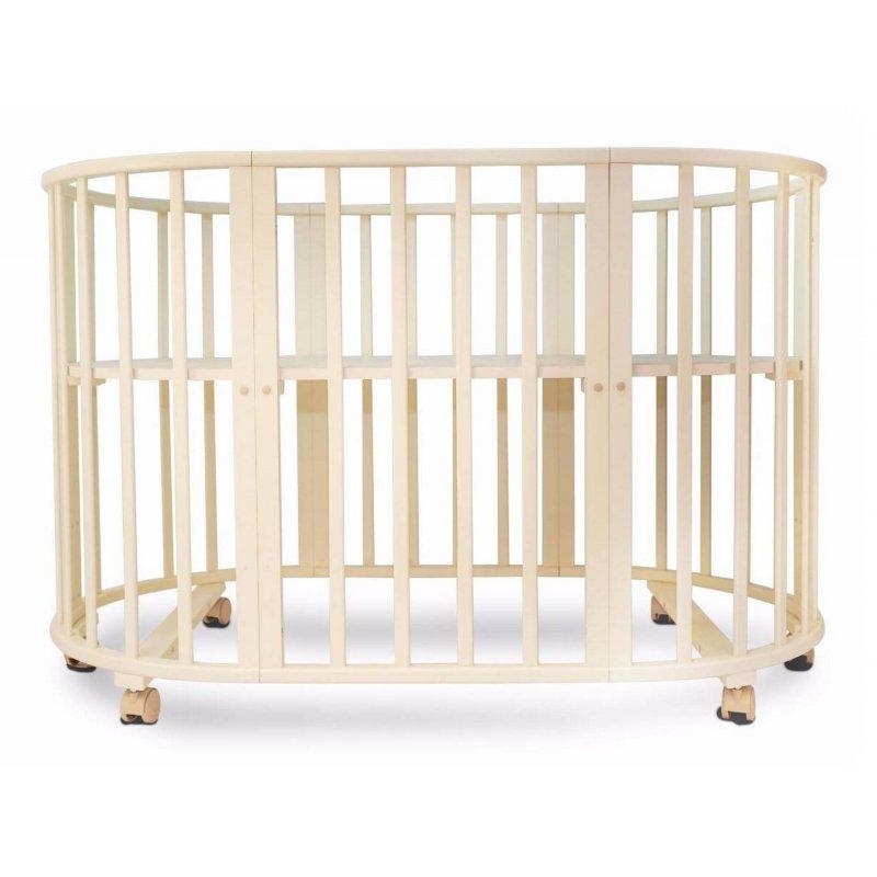 Детская кровать Соня 02 овальная  (65*125)