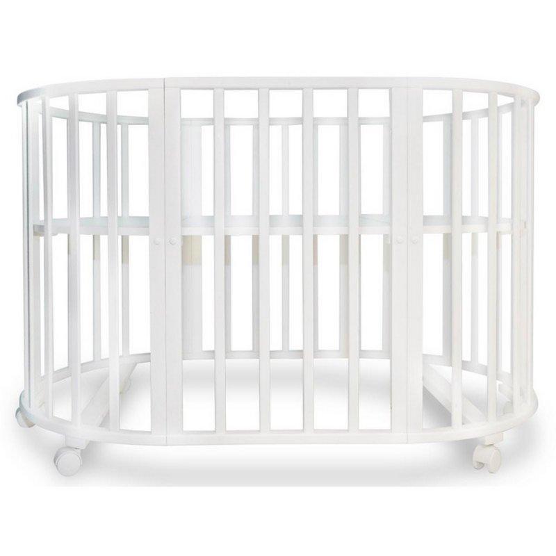 Детская кровать  СОНЯ 02 овальная (75*125)