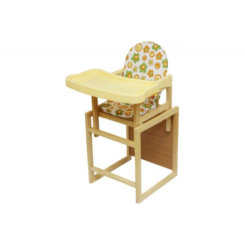 Стульчик для кормления Мишутка (с пласт. столиком) 1403  (GLOBEX)