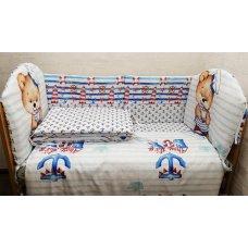Комплект в кровать Морячок 6 предметов
