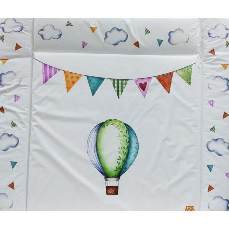 Пеленальный матрасик воздушные шары (82*73)