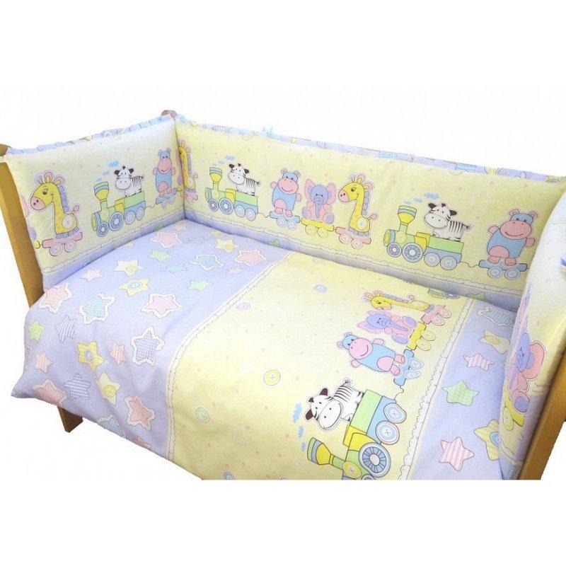 Комплект в кровать Паровозик Звездочка 6 предметов