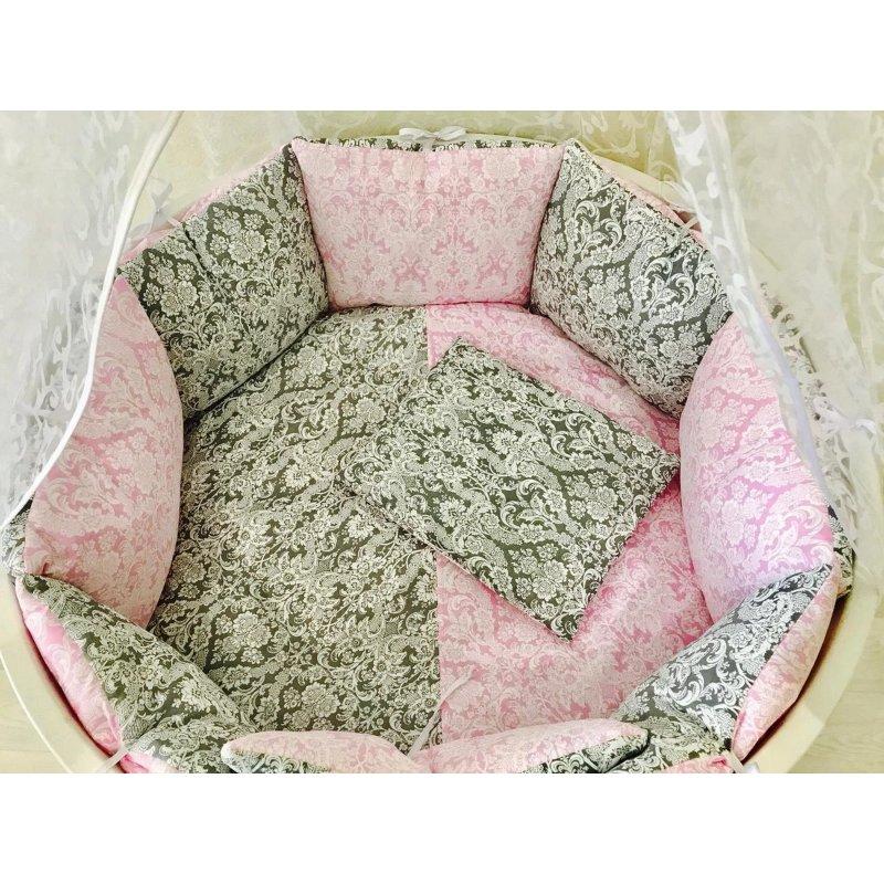 Комплект в кроватку Дамаск 17 предметов