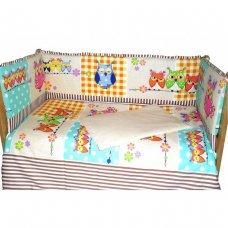 Комплект в кровать Совушки 6 предметов