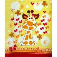 """1042.1 Одеяло покрывало Багира дет.""""Жирафик с бабочкой"""